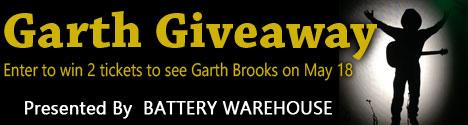 Garth Giveaway