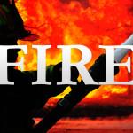 Firefighters Respond To Franklin Township Blaze