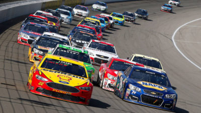 Harvick takes Michigan/Johnson falters in effort to make playoffs