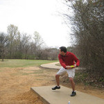 Ceremony To Mark Completion Of Disc Golf Course