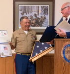 Retired Sergeant Major Honored As 'Community Champion'